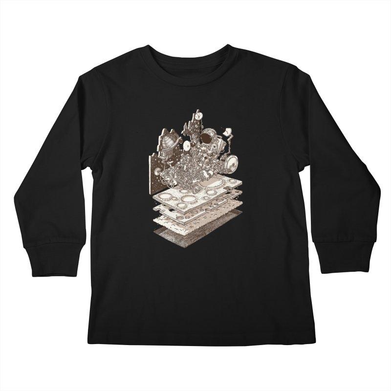dream rover Kids Longsleeve T-Shirt by makapa's Artist Shop