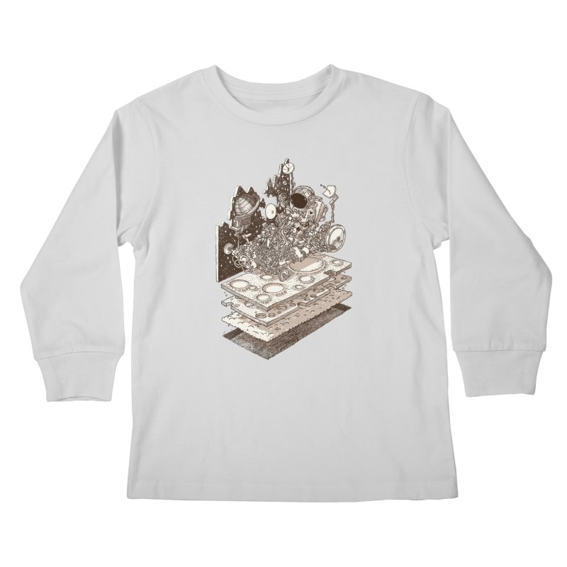 dream rover Kids Longsleeve T-Shirt by makapa's Artist Shop
