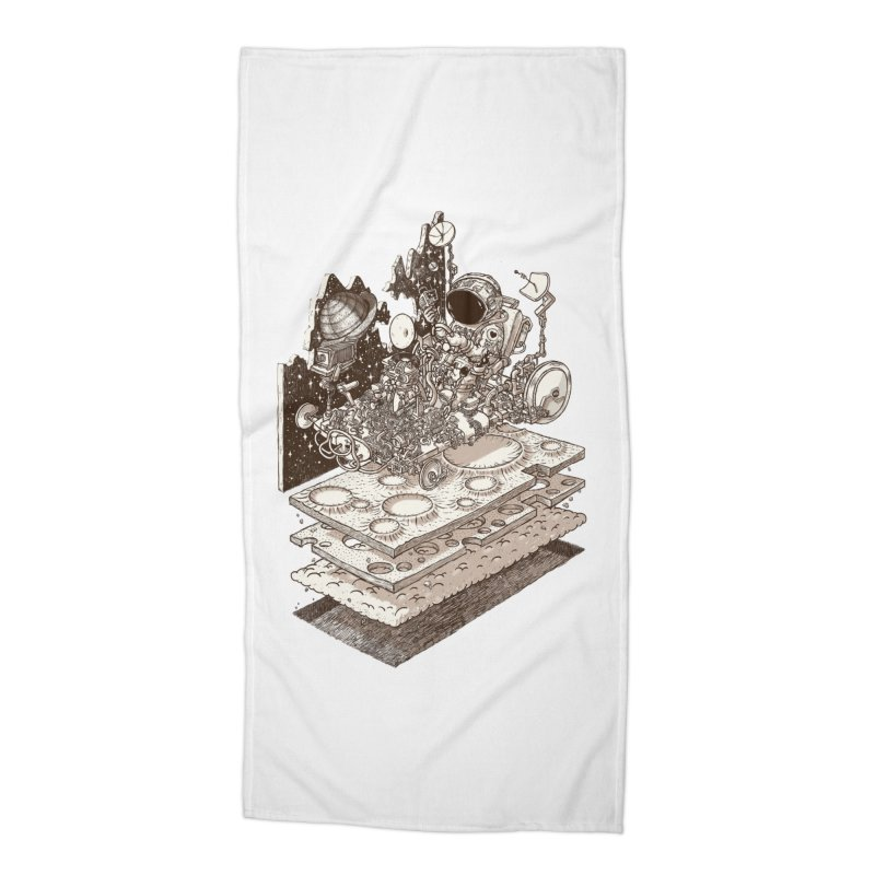 dream rover Accessories Beach Towel by makapa's Artist Shop