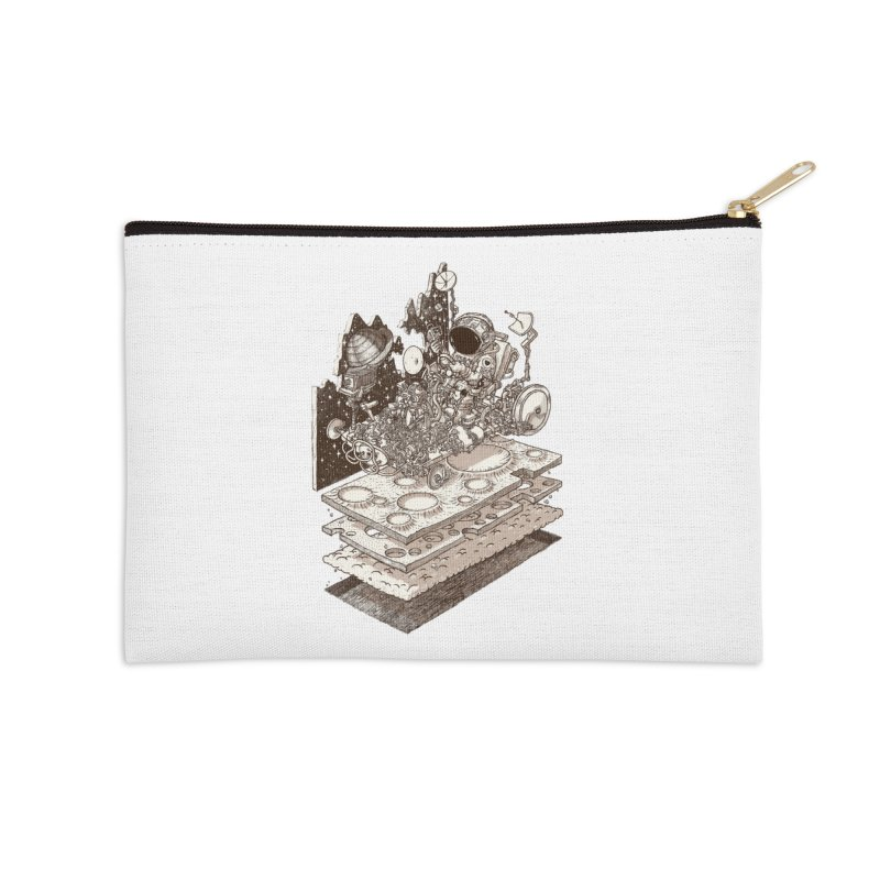 dream rover Accessories Zip Pouch by makapa's Artist Shop