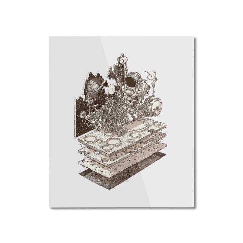 dream rover Home Mounted Aluminum Print by makapa's Artist Shop