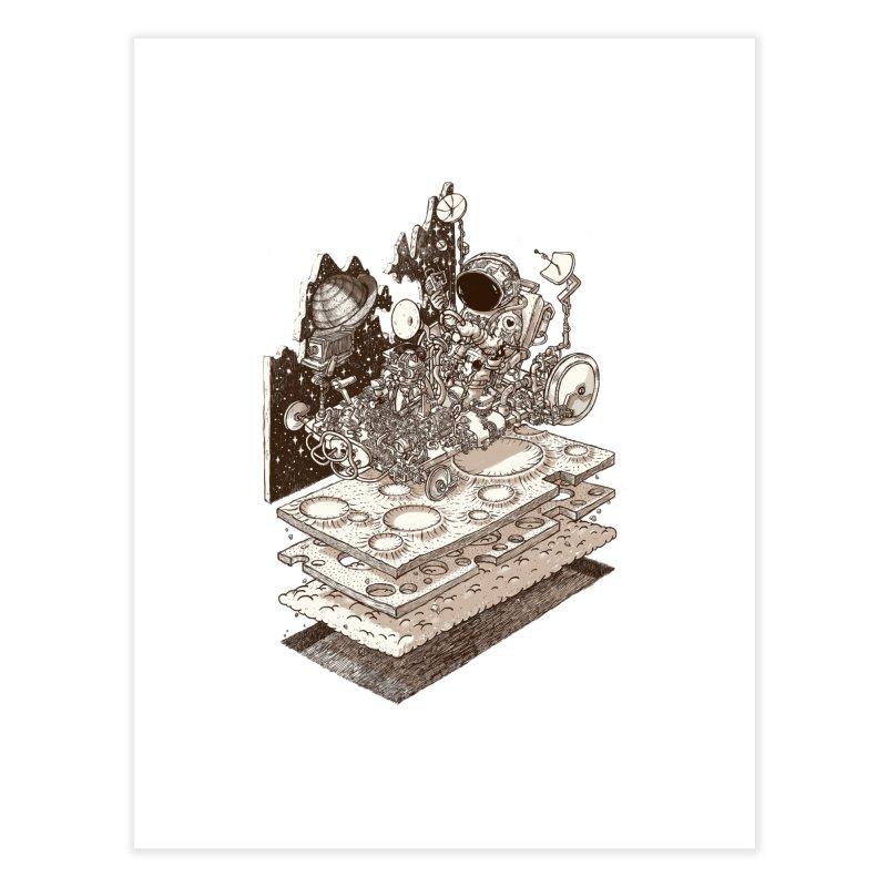 dream rover Home Fine Art Print by makapa's Artist Shop