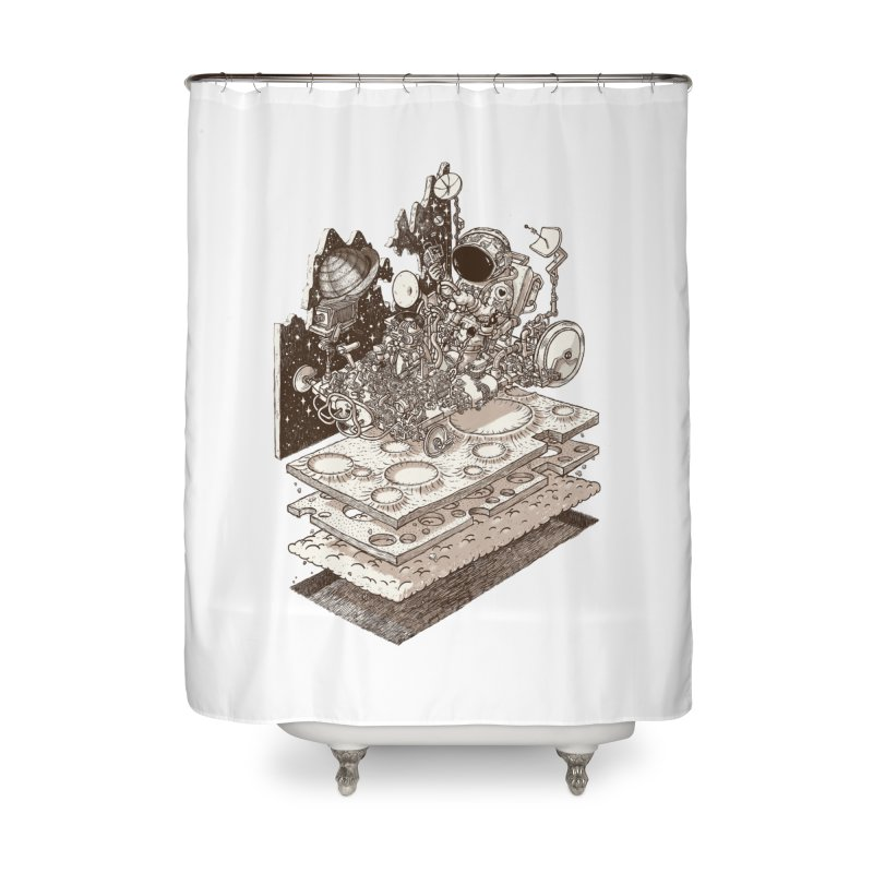 dream rover Home Shower Curtain by makapa's Artist Shop