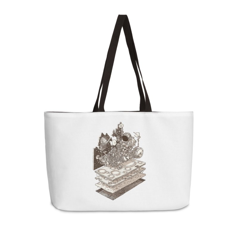 dream rover Accessories Bag by makapa's Artist Shop