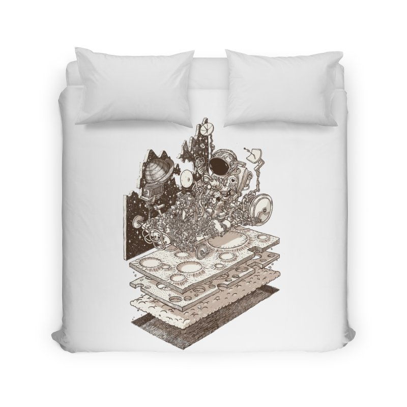 dream rover Home Duvet by makapa's Artist Shop