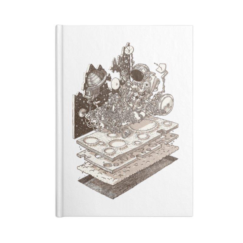 dream rover Accessories Notebook by makapa's Artist Shop