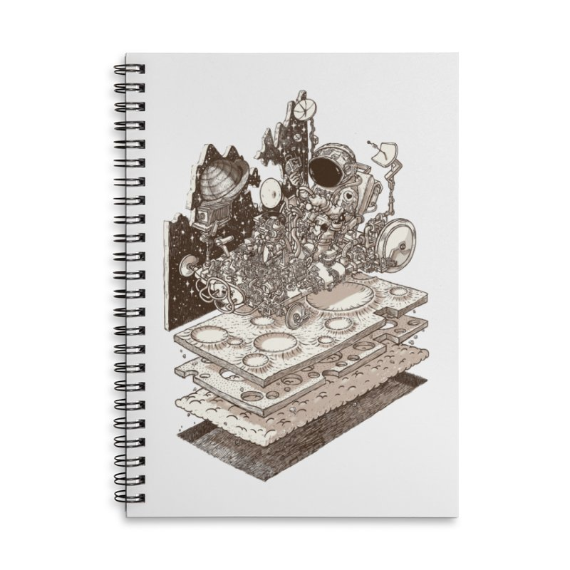 dream rover Accessories Notebook by makapa's Artist Shop