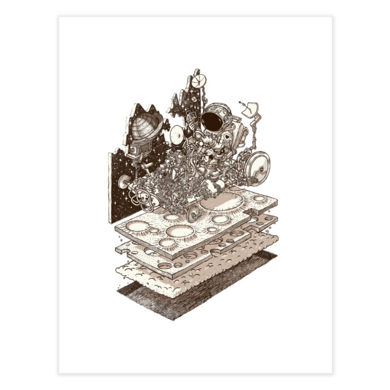 dream rover Home Fine Art Print by makapa's Artist Shop