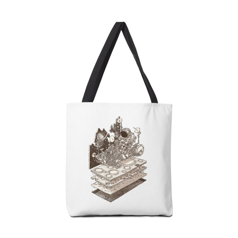 dream rover Accessories Bag by makapa's Artist Shop