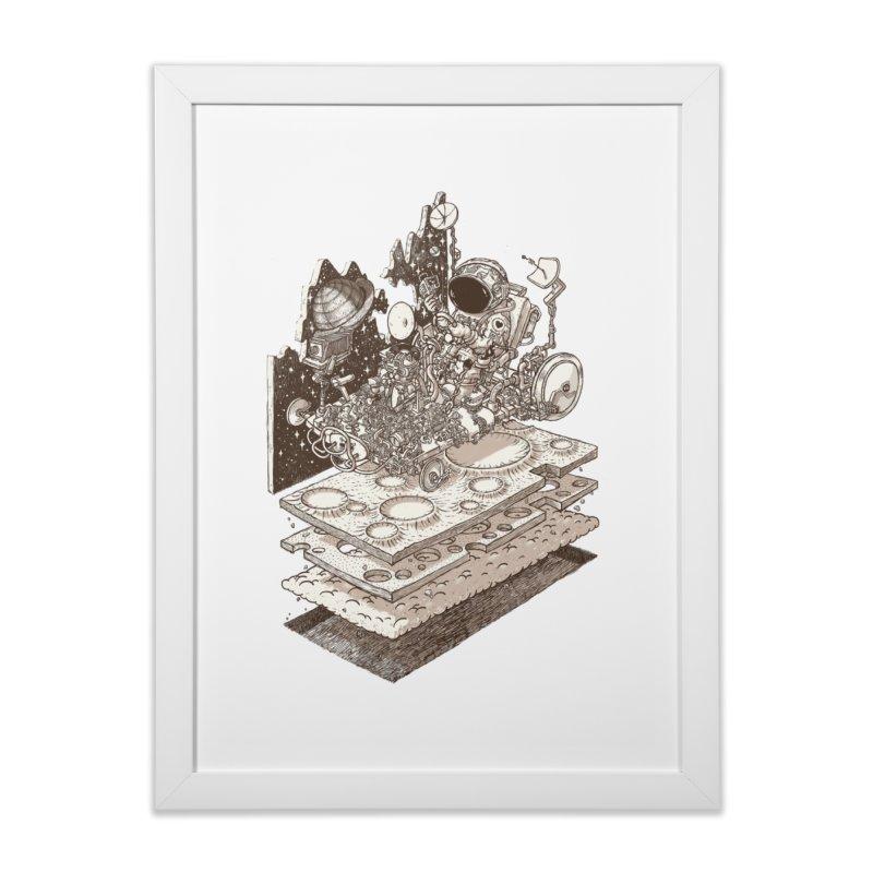 dream rover Home Framed Fine Art Print by makapa's Artist Shop