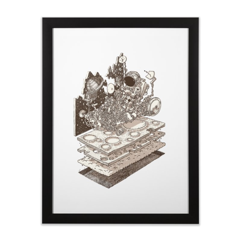 dream rover Home Framed Fine Art Print by makapa's Artist Shop