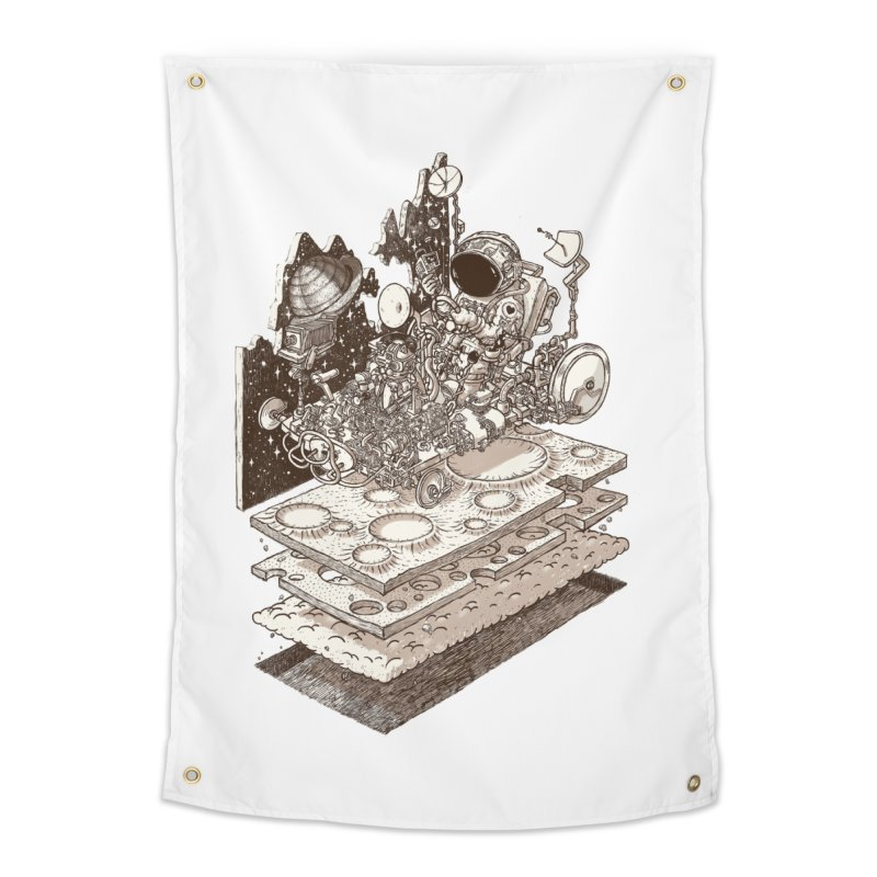 dream rover Home Tapestry by makapa's Artist Shop