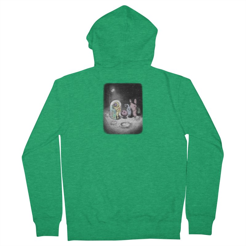 hello mom Men's Zip-Up Hoody by makapa's Artist Shop
