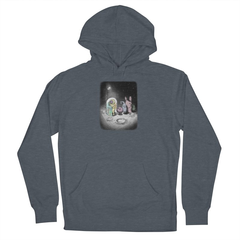 hello mom Women's French Terry Pullover Hoody by makapa's Artist Shop