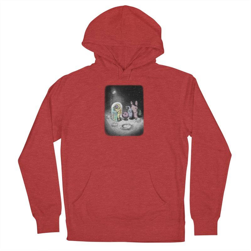 hello mom Men's French Terry Pullover Hoody by makapa's Artist Shop