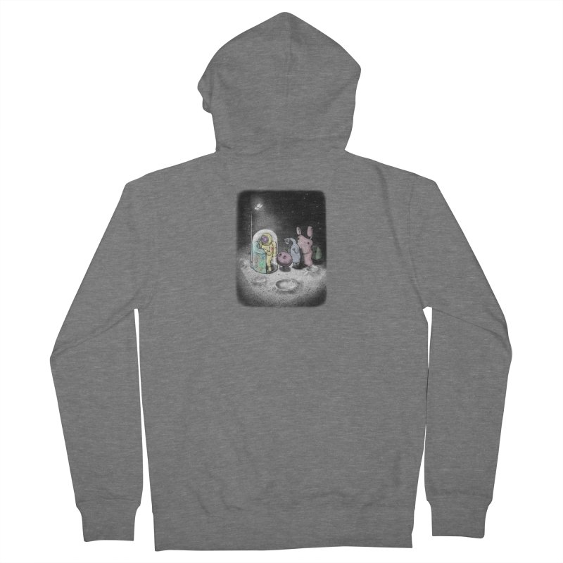hello mom Women's Zip-Up Hoody by makapa's Artist Shop