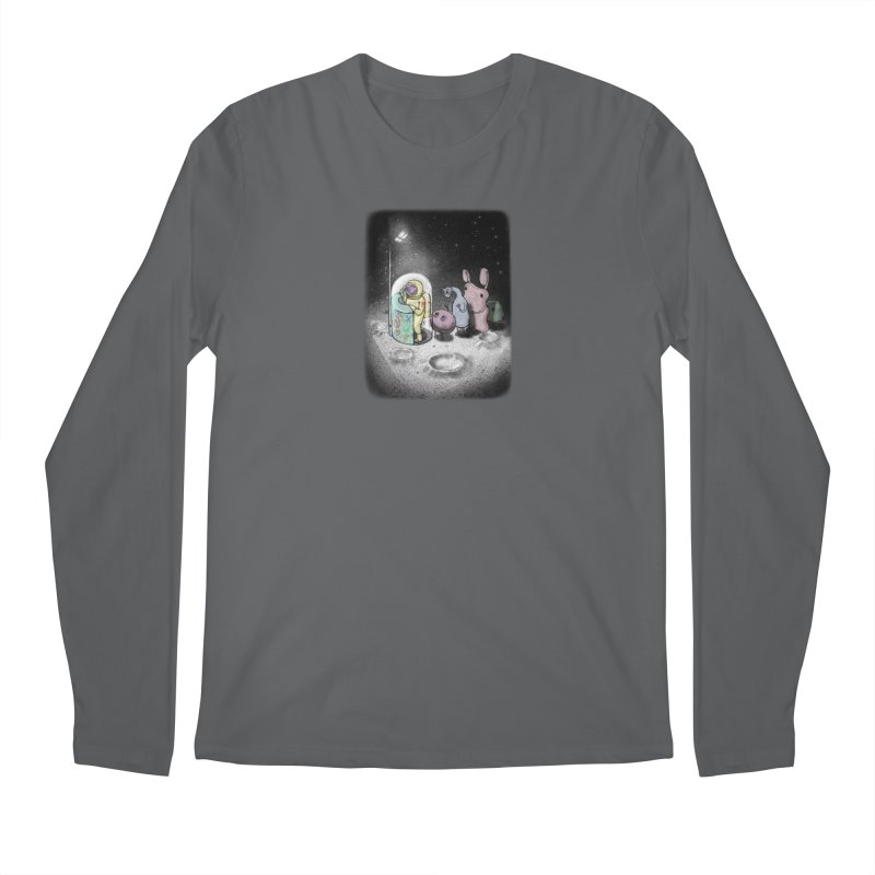 hello mom Men's Regular Longsleeve T-Shirt by makapa's Artist Shop