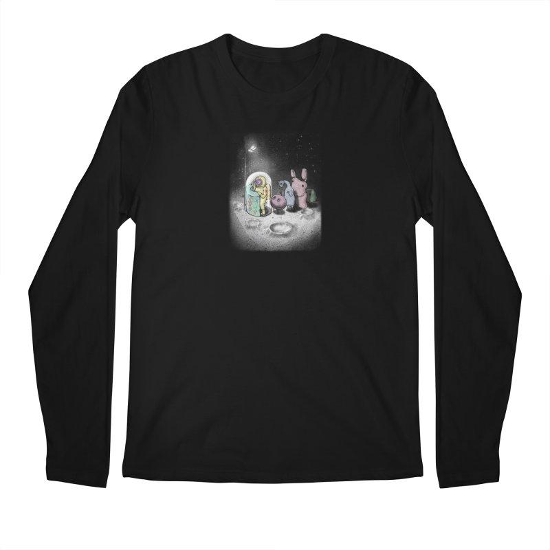 hello mom Men's Regular Longsleeve T-Shirt by makapa's Artist Shop