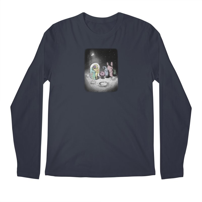 hello mom Men's Longsleeve T-Shirt by makapa's Artist Shop