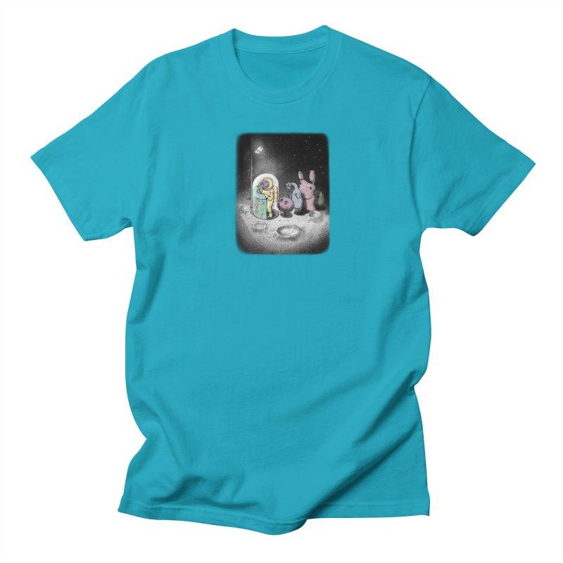 hello mom Men's T-Shirt by makapa's Artist Shop