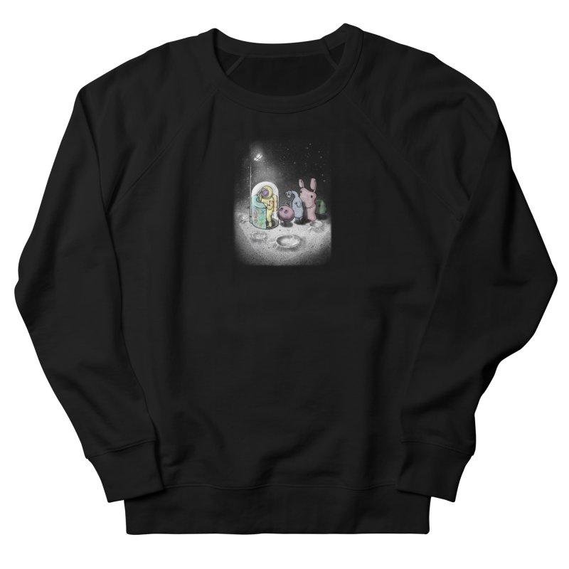hello mom Women's French Terry Sweatshirt by makapa's Artist Shop