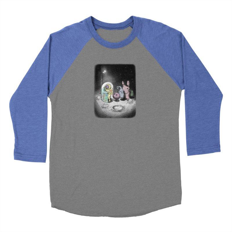 hello mom Women's Baseball Triblend Longsleeve T-Shirt by makapa's Artist Shop