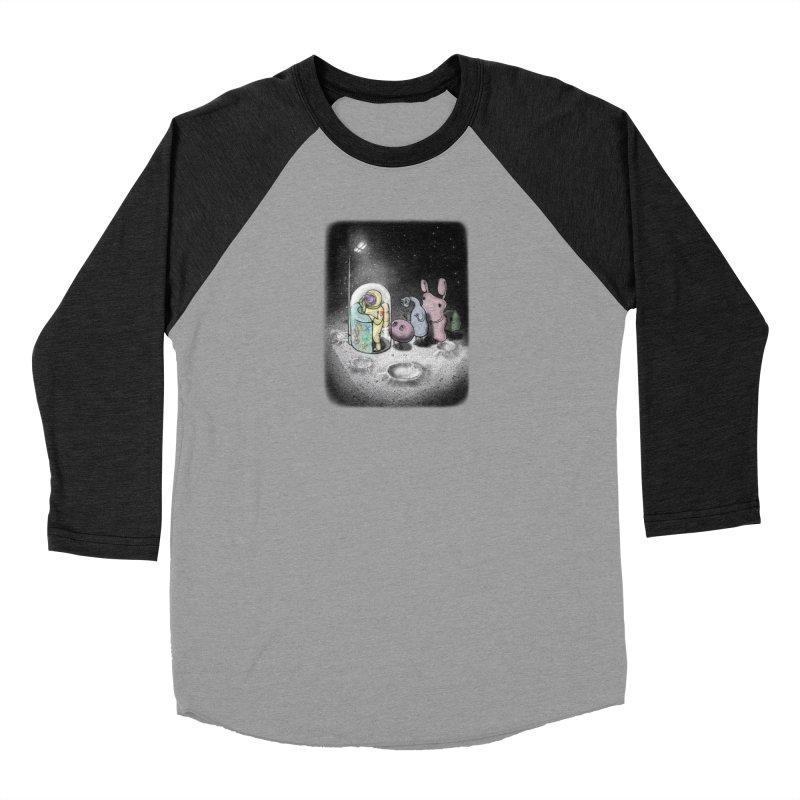 hello mom Men's Baseball Triblend T-Shirt by makapa's Artist Shop
