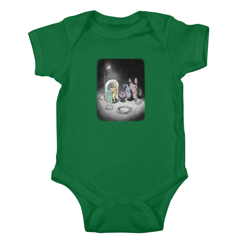 hello mom Kids Baby Bodysuit by makapa's Artist Shop