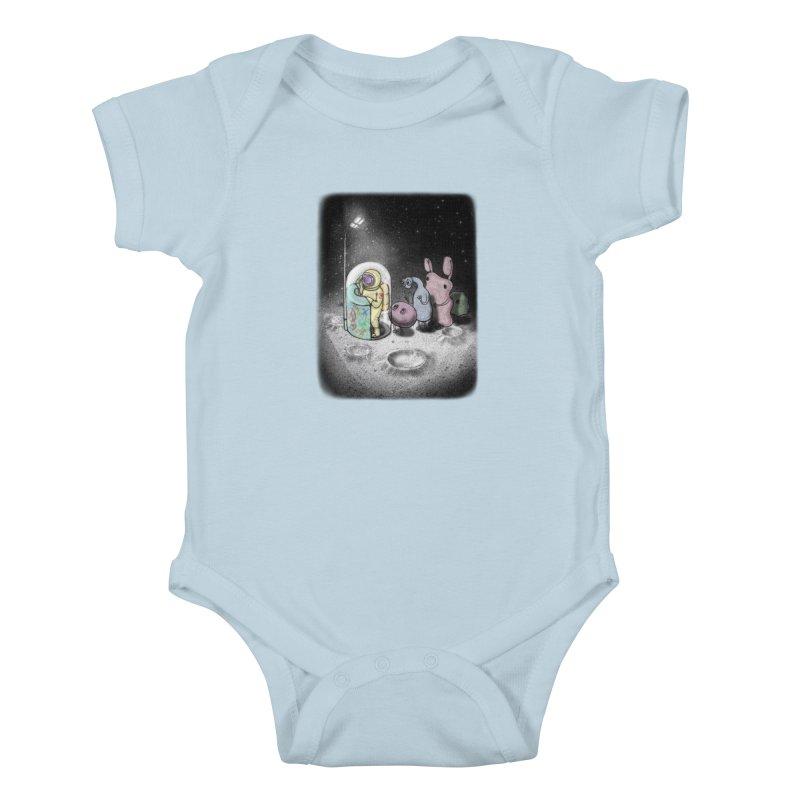 hello mom Kids Baby Bodysuit by makapa's Artist Shop