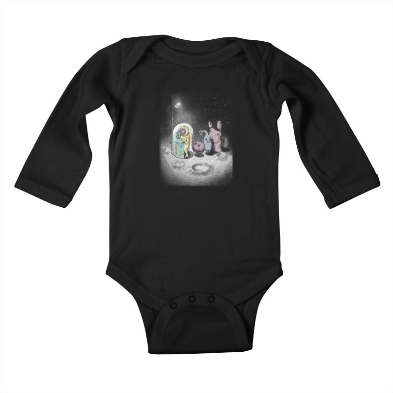 hello mom Kids Baby Longsleeve Bodysuit by makapa's Artist Shop