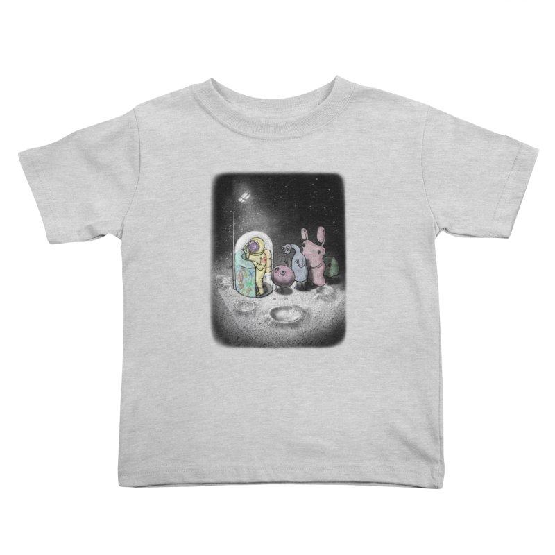 hello mom Kids Toddler T-Shirt by makapa's Artist Shop