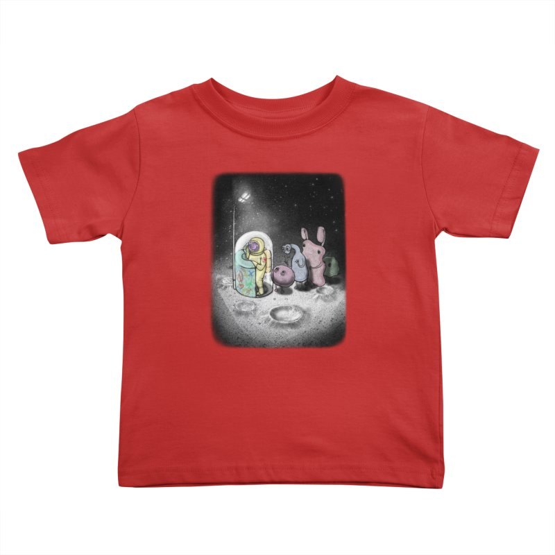 hello mom Kids Toddler T-Shirt by makapa's Artist Shop