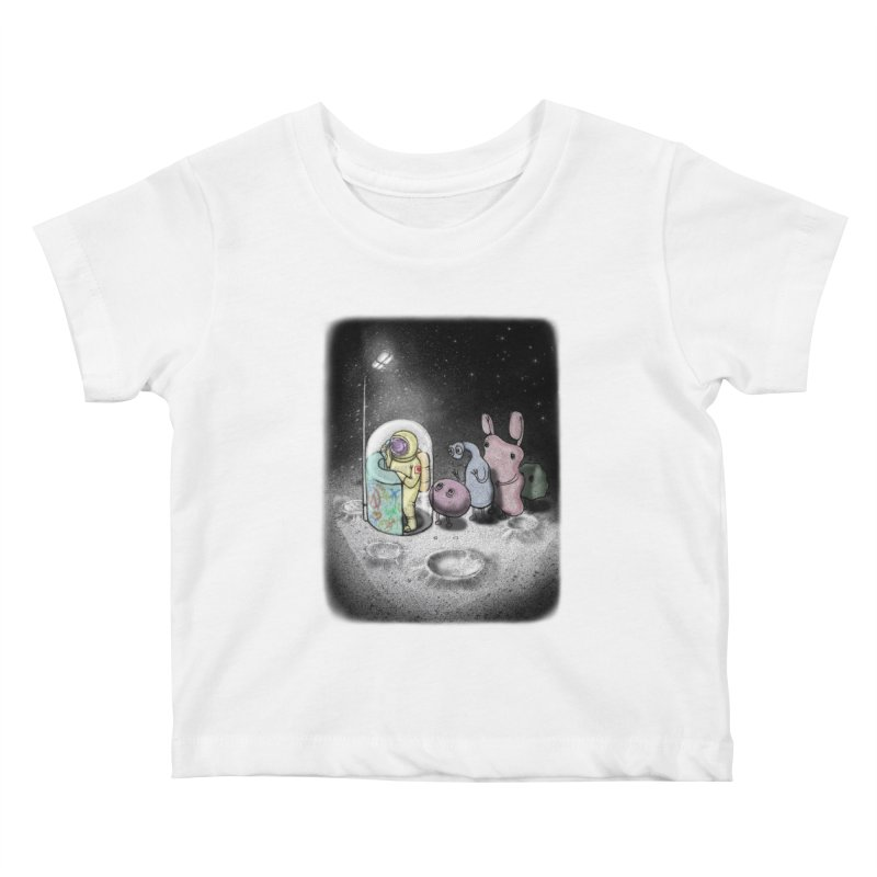 hello mom Kids Baby T-Shirt by makapa's Artist Shop