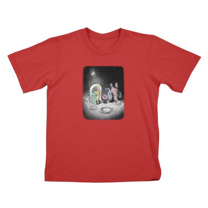 hello mom Kids T-Shirt by makapa's Artist Shop