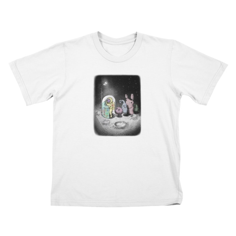 hello mom Kids T-Shirt by makapa's Artist Shop