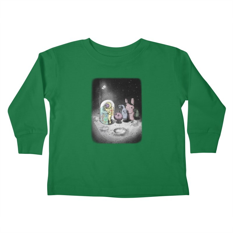 hello mom Kids Toddler Longsleeve T-Shirt by makapa's Artist Shop