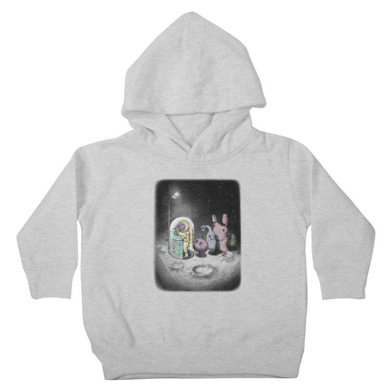 hello mom Kids Toddler Pullover Hoody by makapa's Artist Shop