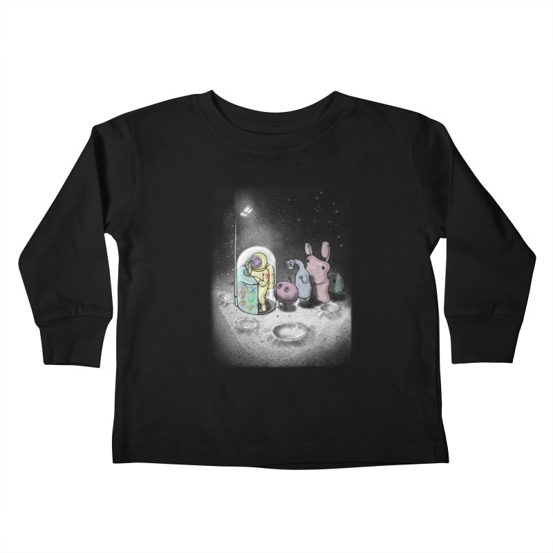 hello mom Kids Toddler Longsleeve T-Shirt by makapa's Artist Shop