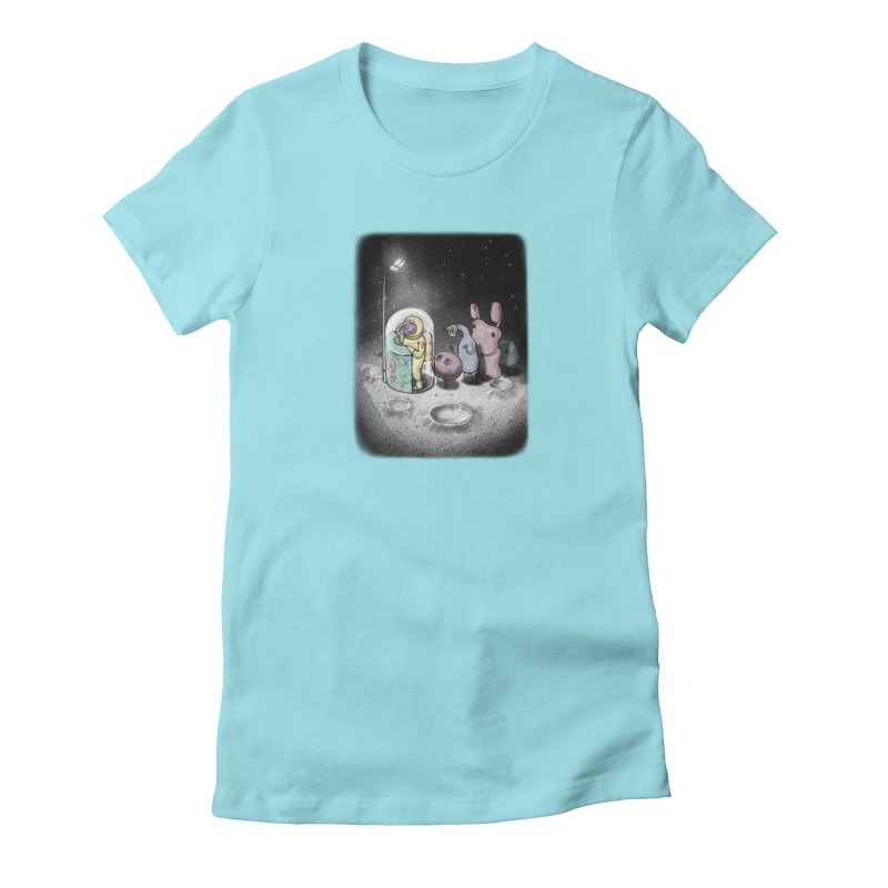 hello mom Women's T-Shirt by makapa's Artist Shop