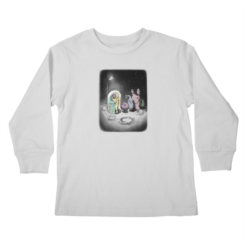 hello mom Kids Longsleeve T-Shirt by makapa's Artist Shop