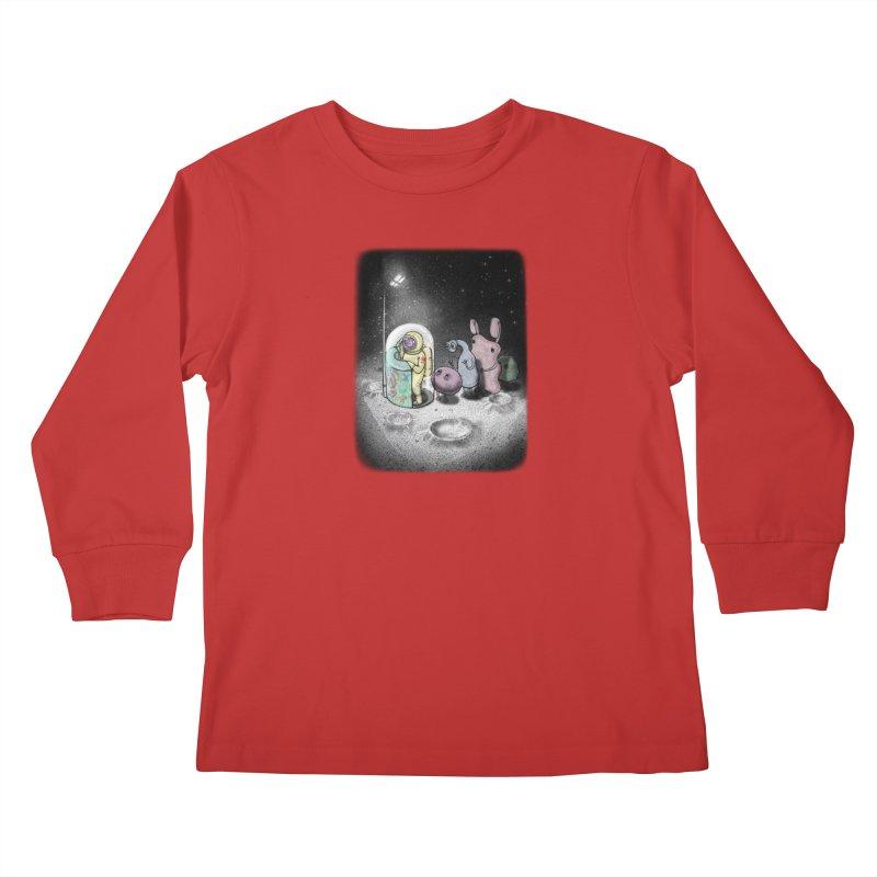 hello mom Kids Longsleeve T-Shirt by makapa's Artist Shop