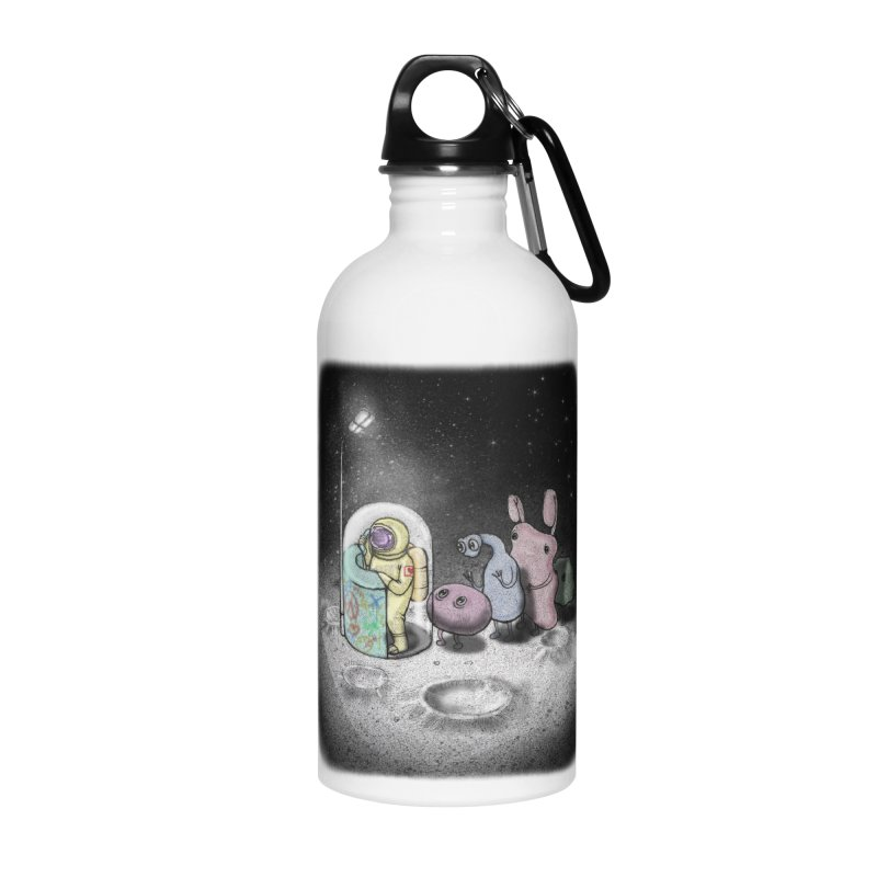 hello mom Accessories Water Bottle by makapa's Artist Shop