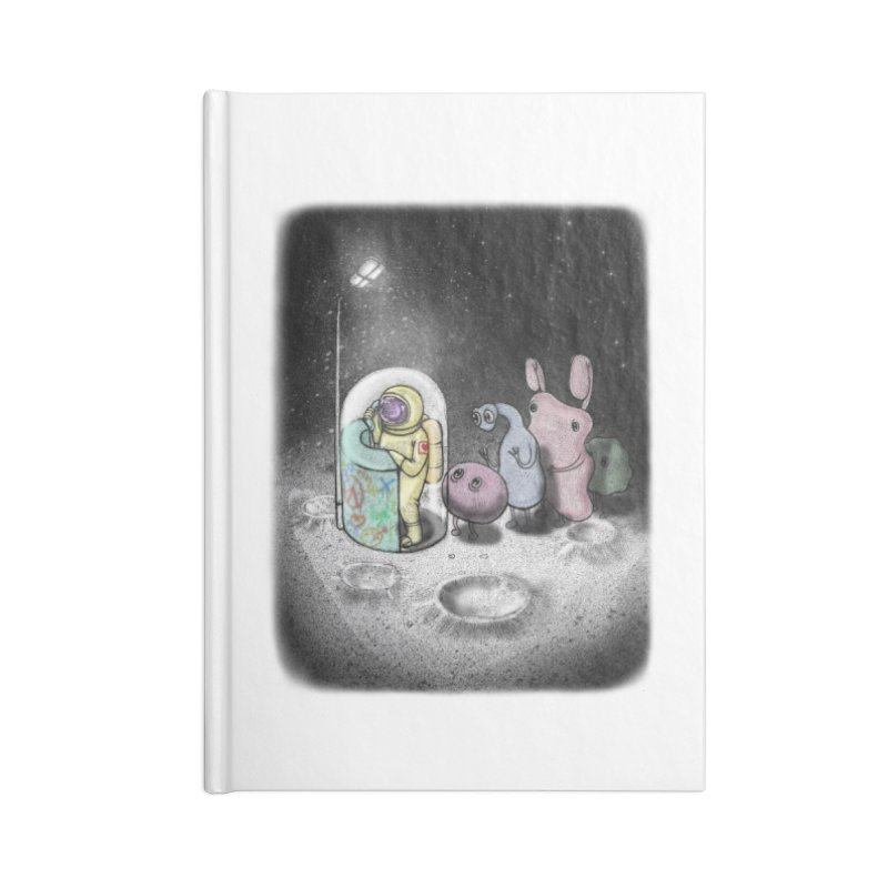 hello mom Accessories Notebook by makapa's Artist Shop