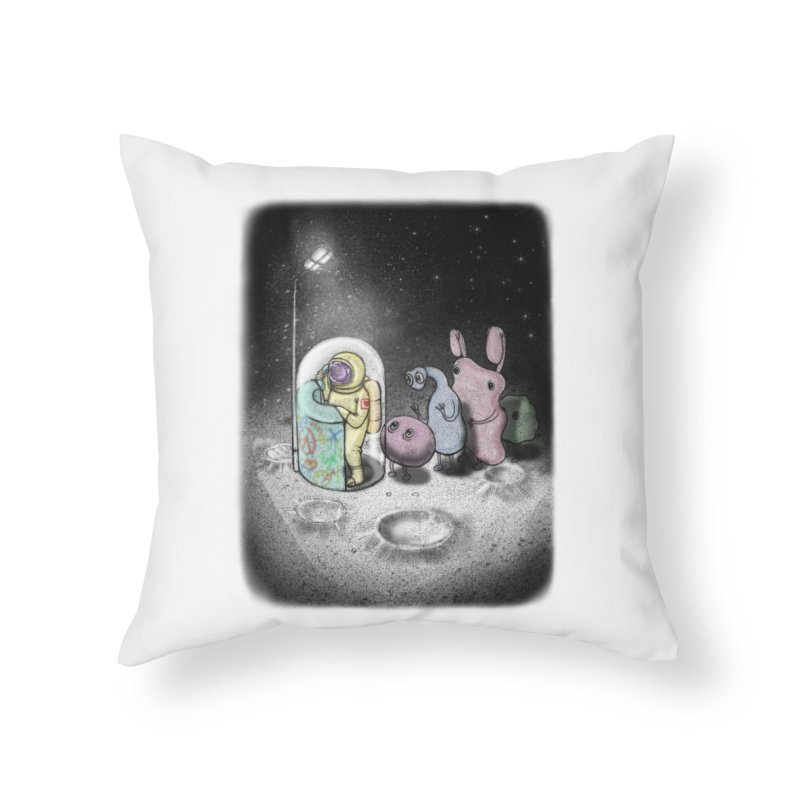hello mom Home Throw Pillow by makapa's Artist Shop