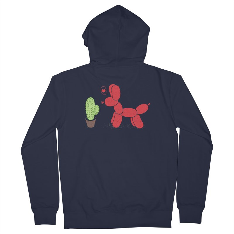sometimes love is death Men's Zip-Up Hoody by makapa's Artist Shop