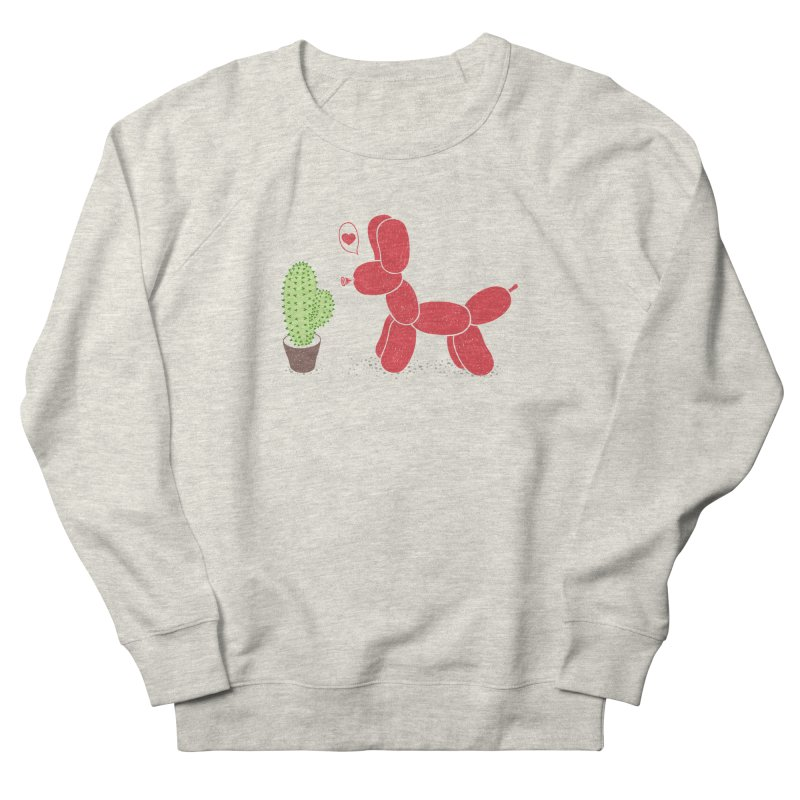 sometimes love is death Women's French Terry Sweatshirt by makapa's Artist Shop