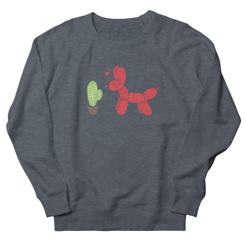 sometimes love is death Men's French Terry Sweatshirt by makapa's Artist Shop