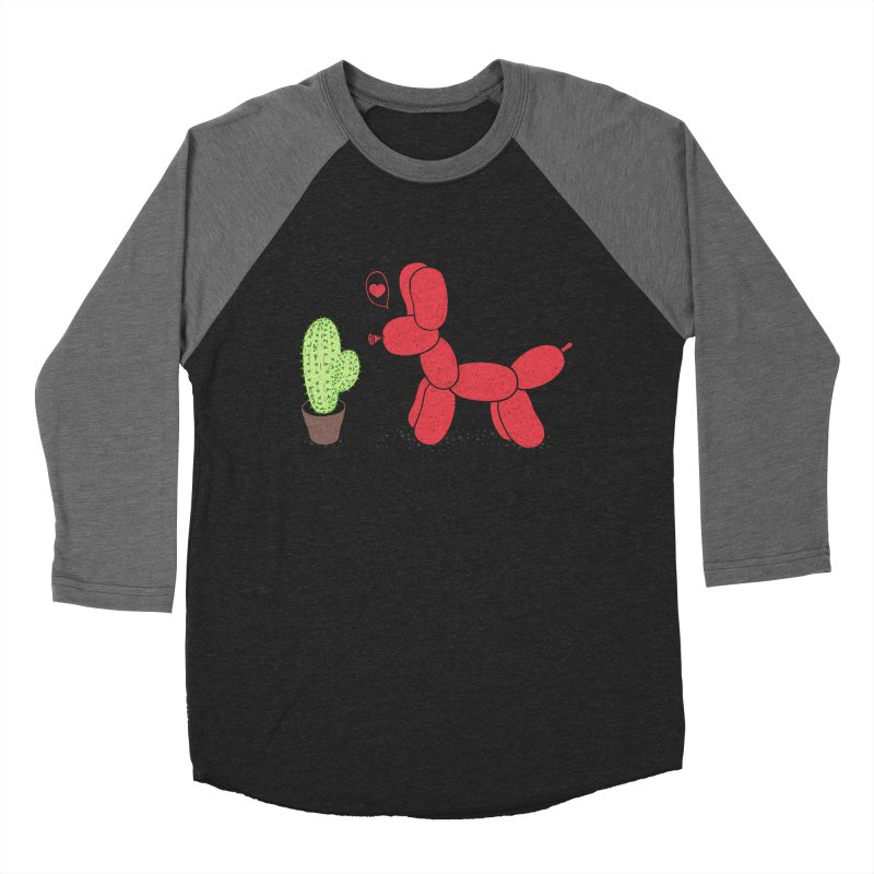 sometimes love is death Women's Baseball Triblend T-Shirt by makapa's Artist Shop