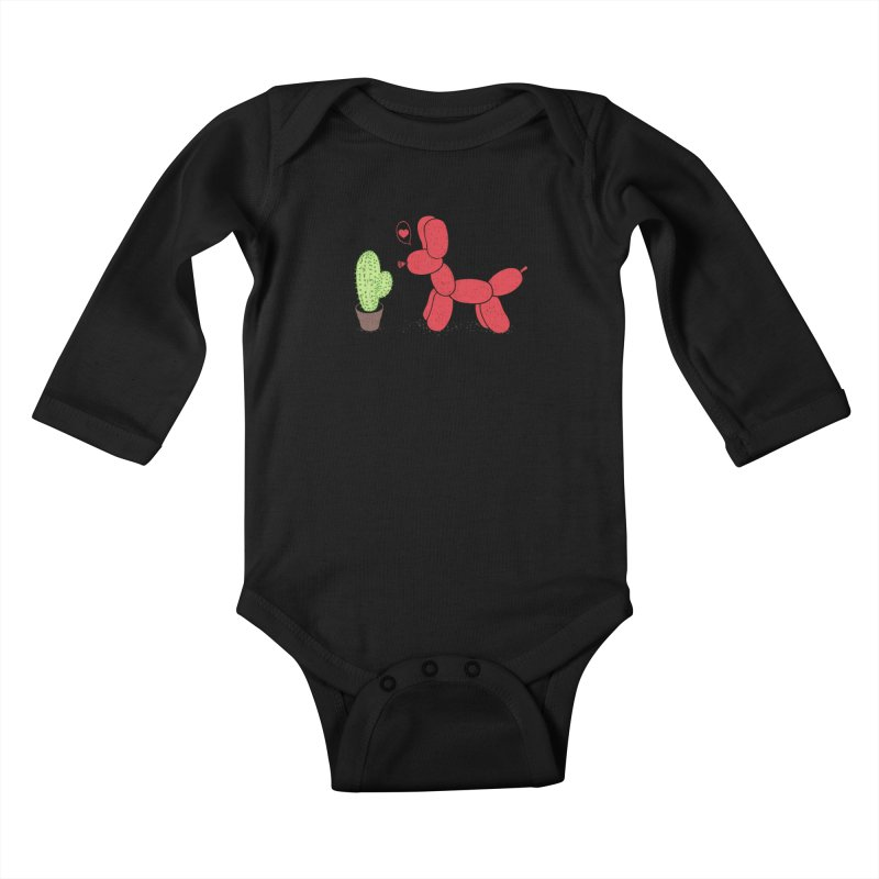 sometimes love is death Kids Baby Longsleeve Bodysuit by makapa's Artist Shop