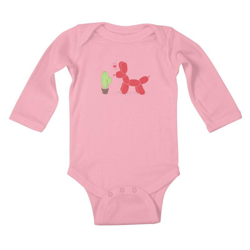 sometimes love is death Kids Baby Longsleeve Bodysuit by makapa's Artist Shop